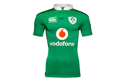 Ireland IRFU 201617 Home Players Test Rugby Shirt