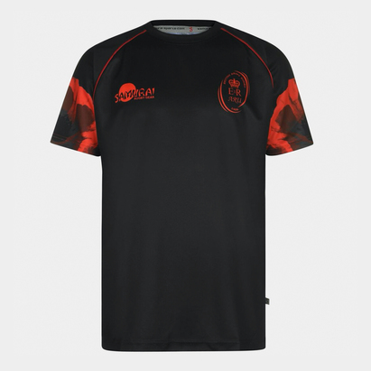 Samurai Army Rugby Short Sleeve T Shirt Mens