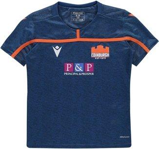 Macron Edinburgh 2019/20 Kids Rugby T-Shirt