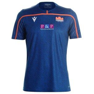 Macron Edinburgh Rugby 2019 20 Training Shirt Mens