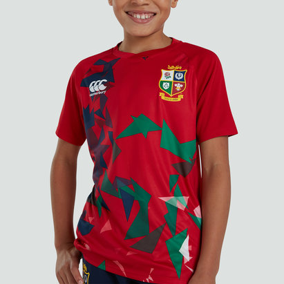 Canterbury British and Irish Lions Lightweight T-Shirt Junior Boys