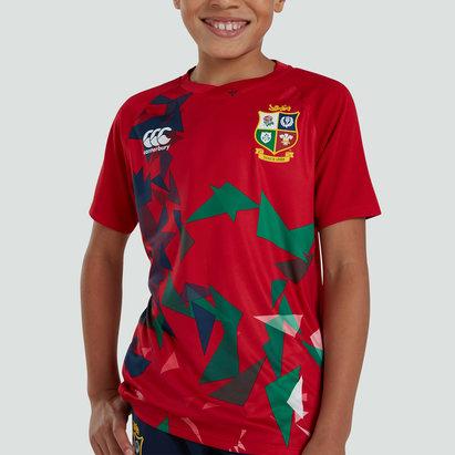 Canterbury British and Irish Lions Lightweight T-Shirt Junior Boys