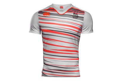 Canterbury England 7s 2017 Kids Home Pro Rugby Shirt