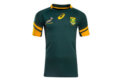 South Africa Springboks 201617 Home Pro SS Rugby Shirt