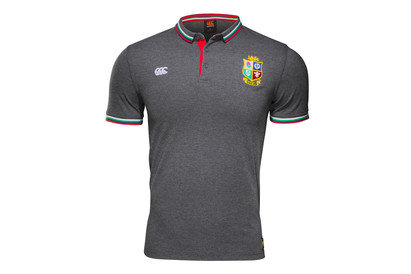 British & Irish Lions 2017 Tipped Rugby Polo Shirt