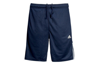 adidas Base 3 Stripe Climalite Training Shorts
