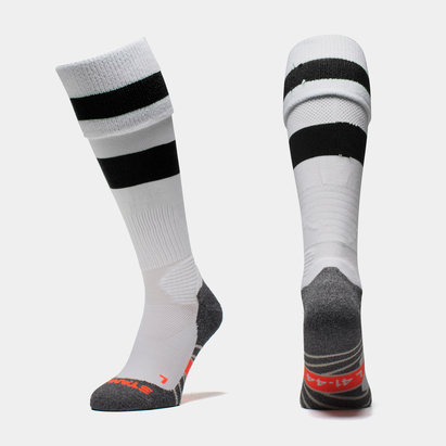 Original Hooped Match Sock - White/Black