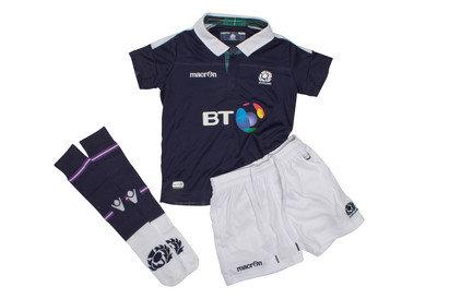Scotland 2016/17 Home Mini Kids Rugby Kit