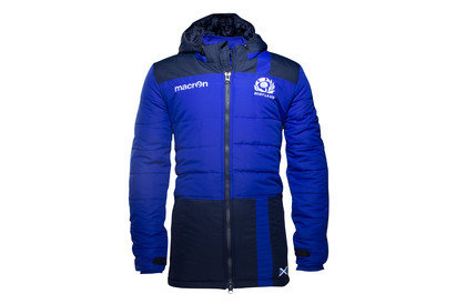Scotland 201617 Players Long Travel Padded Rugby Jacket