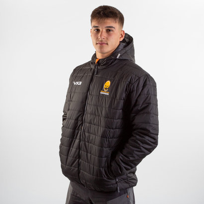 VX3 Worcester Warriors 2019/20 Pro Quilted Rugby Jacket