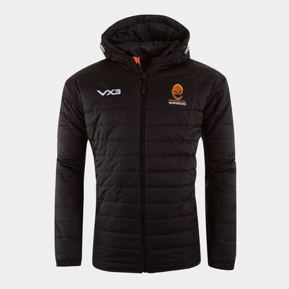 VX3 Worcester Warriors 2019/20 Kids Pro Quilted Rugby Jacket