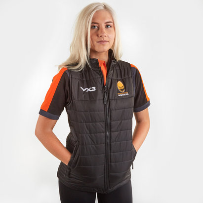 VX3 Worcester Warriors 2019/20 Ladies Pro Rugby Gilet