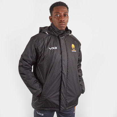 VX3 Worcester Warriors 19/20 Pro Corporate Jacket