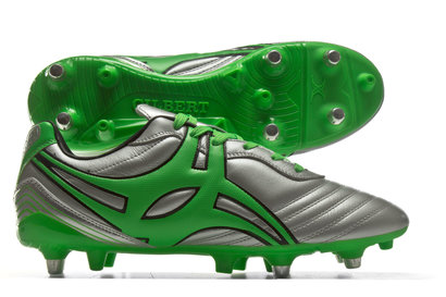 Gilbert Jink Pro 6 Stud Chrome SG Rugby Boots