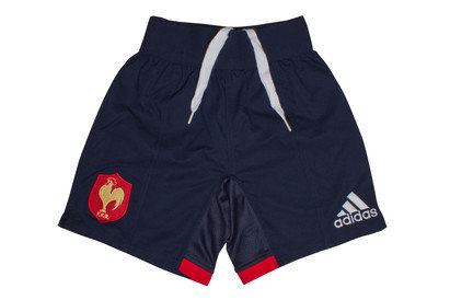 France 201617 Home Match Rugby Shorts