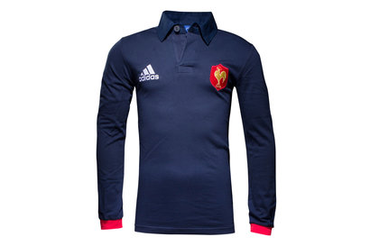France 201617 Supporters LS Rugby Shirt
