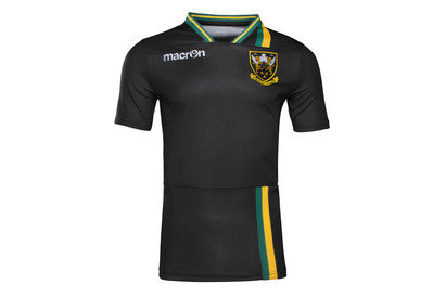 Macron Northampton Saints 2016/17 Kids Rugby Training T-Shirt
