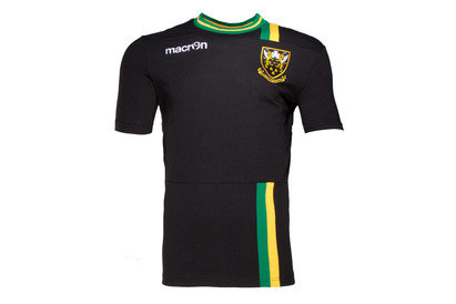 Northampton Saints 201617 Off Field Cotton Rugby TShirt