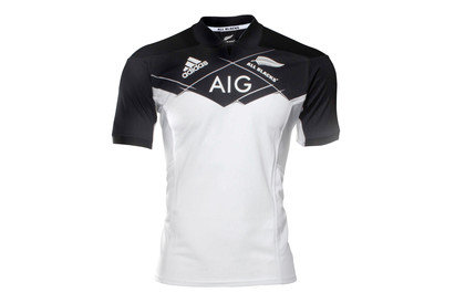 adidas New Zealand All Blacks 2017/18 Alternate S/S Rugby Shirt