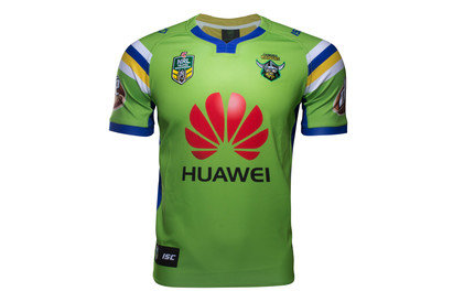 Canberra Raiders Home NRL 2017 Replica SS Rugby Shirt