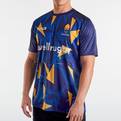 VX3 Worcester Warriors 2019/20 Warm Up Rugby T-Shirt