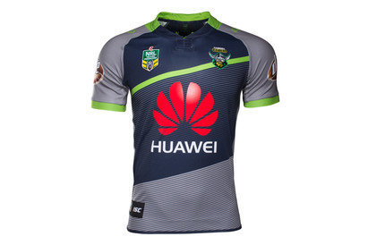 Canberra Raiders Alternate NRL 2017 Replica SS Rugby Shirt
