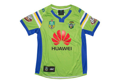 Canberra Raiders Home 2017 NRL Kids SS Replica Rugby Shirt