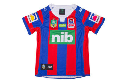 Newcastle Knights 2017 Home NRL Kids SS Replica Rugby Shirt