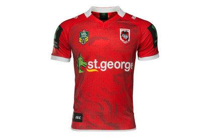 St George Illawarra Dragons NRL 2017 Alternate SS Replica Rugby Shirt