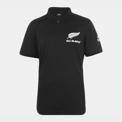 adidas New Zealand All Blacks Rugby Polo Shirt