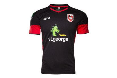St George Illawarra Dragons NRL 2017 Players Rugby Training TShirt