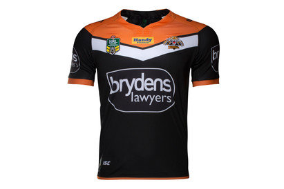 Wests Tigers NRL 2017 Home Replica SS Rugby Shirt
