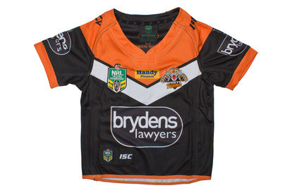 Wests Tigers 2017 NRL Kids Home SS Replica Rugby Shirt