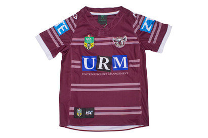 Manly Sea Eagles 2017 NRL Kids Home SS Rugby Shirt