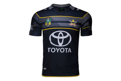 North Queensland Cowboys NRL 2017 Home SS Rugby Shirt