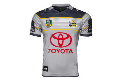 North Queensland Cowboys NRL 2017 Alternate SS Rugby Shirt