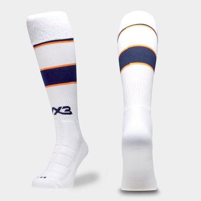 VX3 Worcester Warriors 19/20 Alternate Kids Rugby Socks