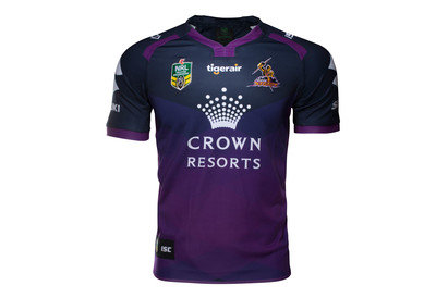 Melbourne Storm NRL 2017 Home SS Rugby Shirt