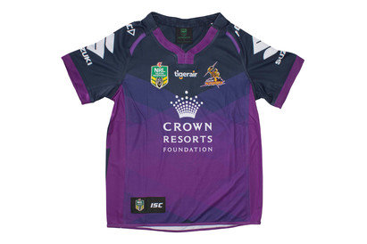 Melbourne Storm NRL 2017 Kids Home SS Rugby Shirt