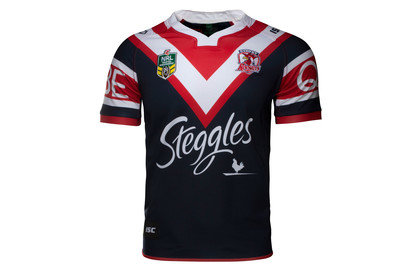 Sydney Roosters NRL 2017 Home SS Rugby Shirt