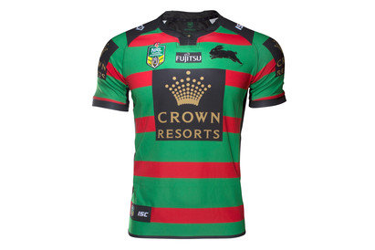 South Sydney Rabbitohs NRL 2017 Home SS Rugby Shirt