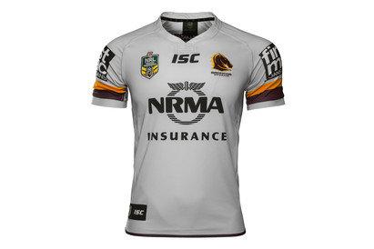 Brisbane Broncos NRL 2017 Alternate SS Rugby Shirt