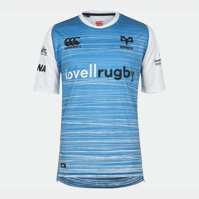 Canterbury Ospreys Away Shirt 2018 2019 Mens