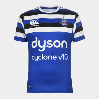 Canterbury Bath Rugby 2019 2020 Home Test Shirt Mens