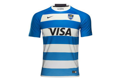 Argentina 201617 Home SS Replica Rugby Shirt