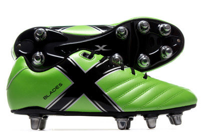 X Blades Legend Flash 8 Stud SG Rugby Boots