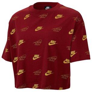 Nike Shine Crop T Shirt Ladies