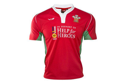 Help for Heroes Wales 201617 Kids SS Rugby Shirt