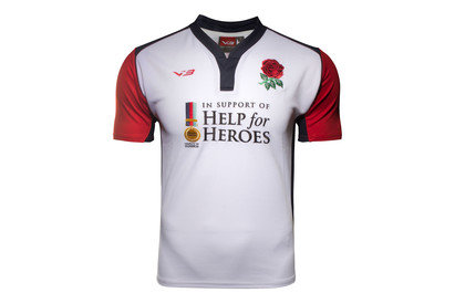 Help for Heroes England 201617 SS Rugby Shirt