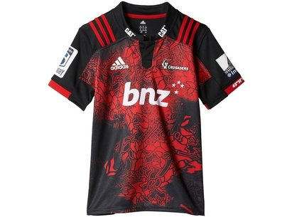 Crusaders 2017 Territory Kids SS Super Rugby Shirt